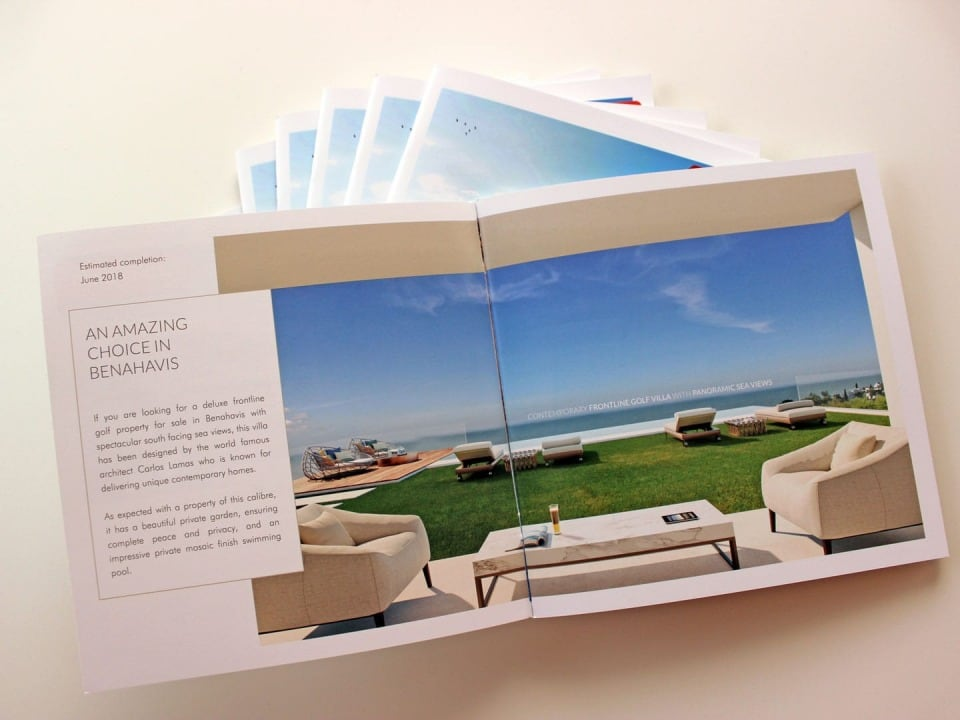 catalogo promocion inmobiliaria brochure real estate