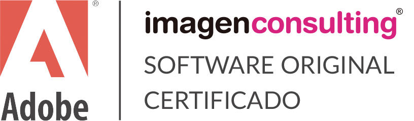 Imagen Consulting utiliza software original certificado de Adobe