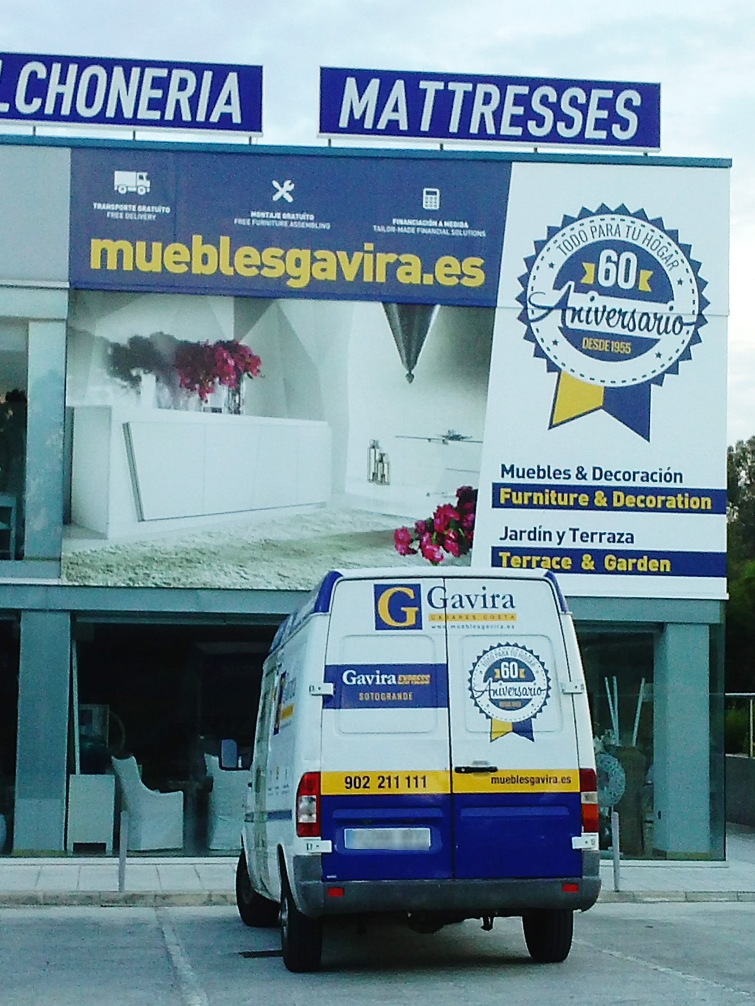 Car Wrapping Design For Muebles Gavira Advertising And Design  # Muebles Jardin Malaga