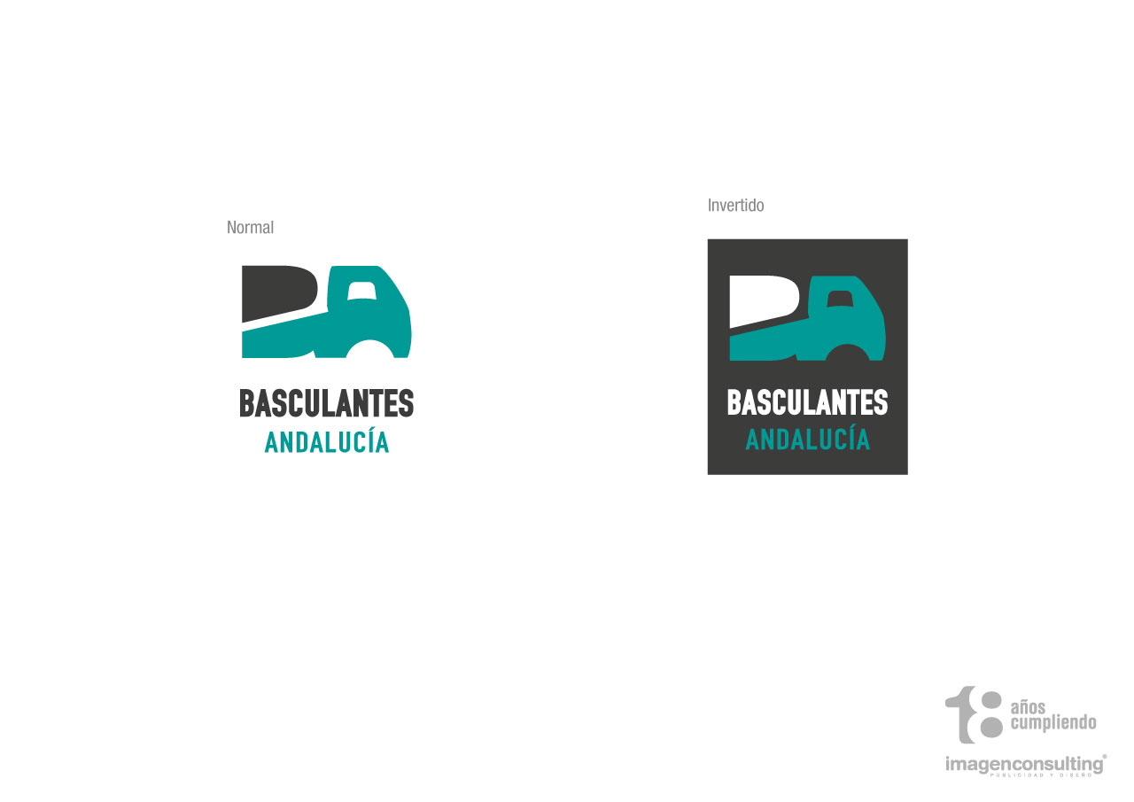 Corporate image design for Basculantes Andalucía