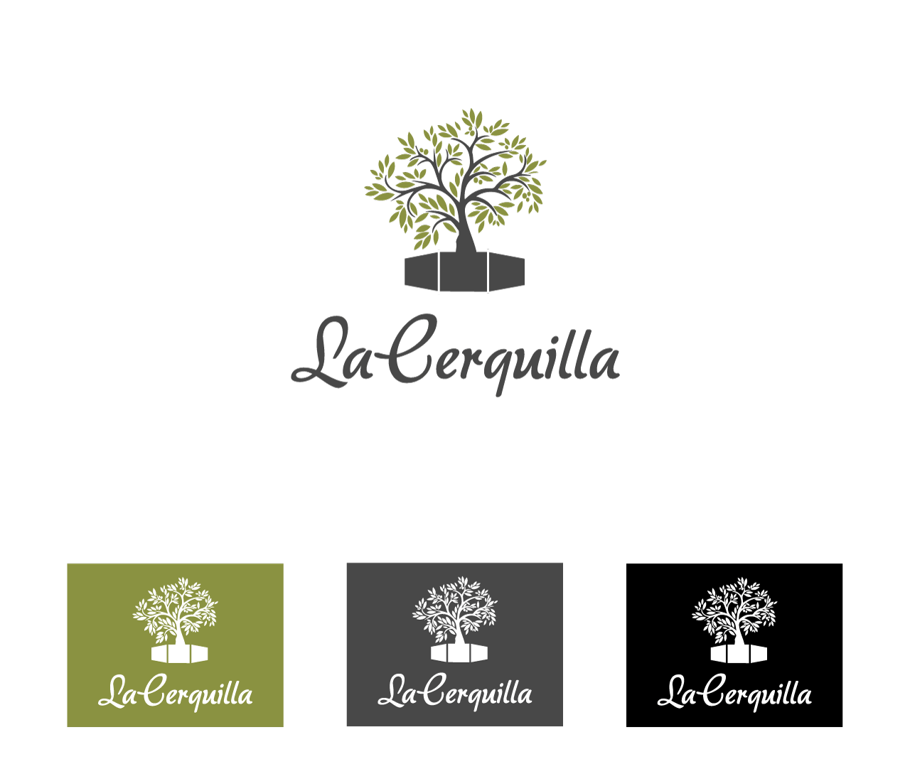 Corporate imagen design for La Cerquilla urbanization