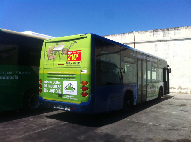Advertising buses for leroy merlin in marbella advertising and design agenc - Sol lino leroy merlin ...