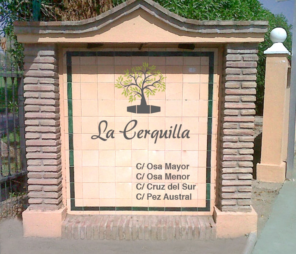 Logo design for La Cerquilla Urbanisation