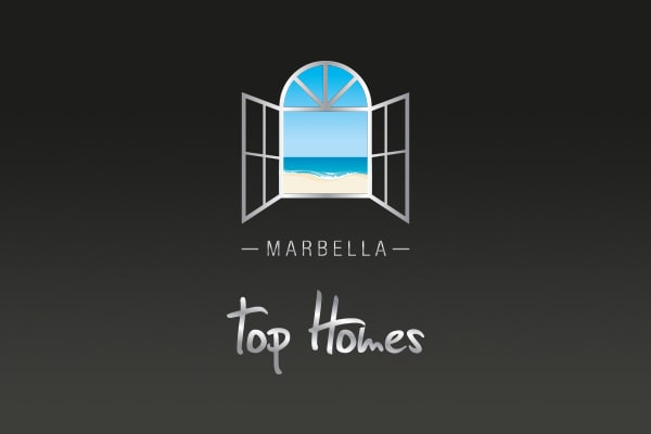 Corporate imagen design for Marbella Top Homes