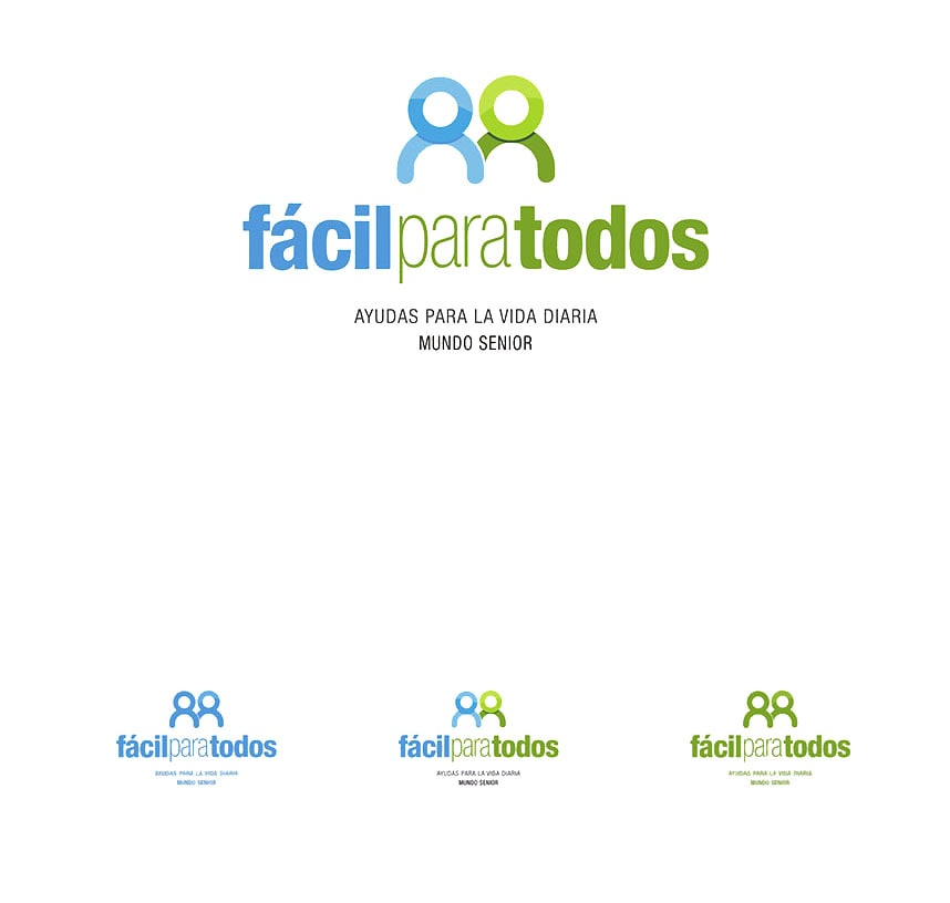 Logo design for Fácil Para Todos by Mundo Senior