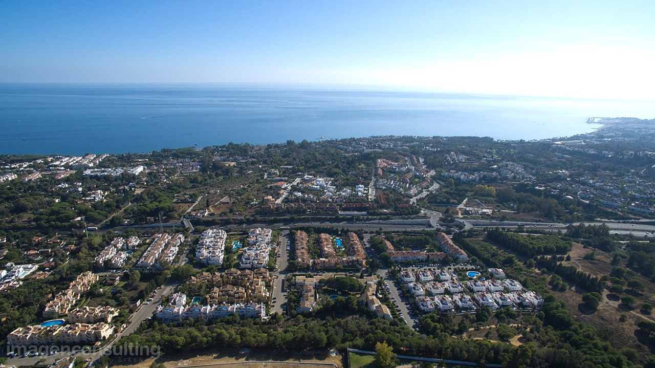 Aerial photography in Marbella