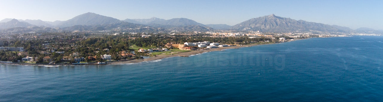 Aerial photos for Costa del Sol Tourism Board