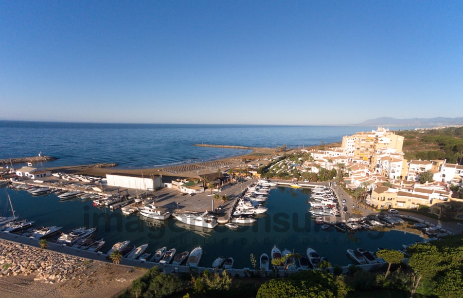Aerial photography for Marbella Real Estate Developer
