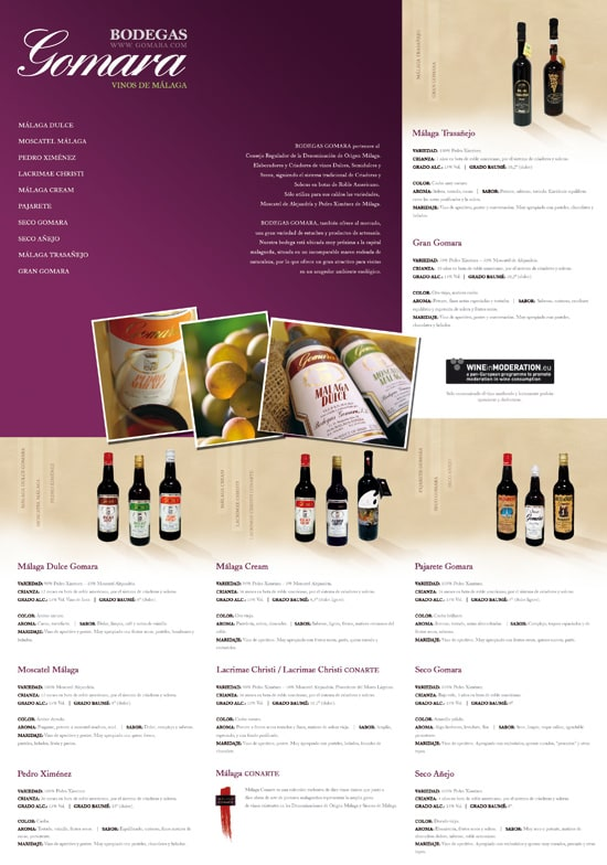 Bodegas Gomara Catalogue