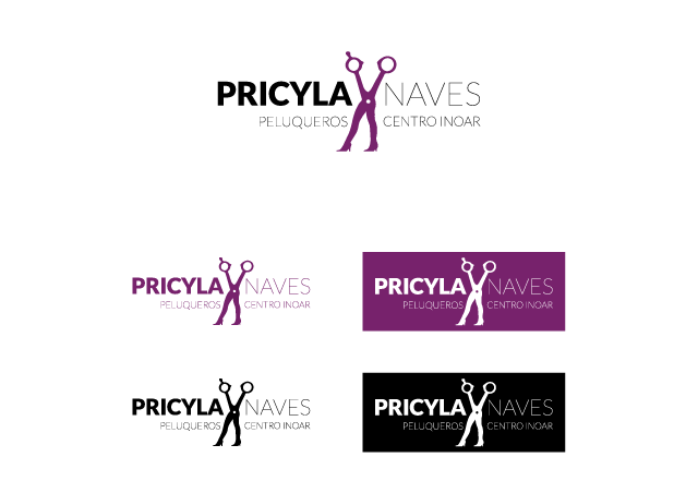 Diseño de logotipo Pricyla Naves