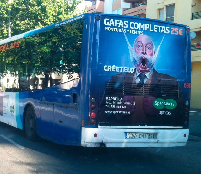 Advertising buses for specsavers advertising and design - Specsavers head office contact number ...