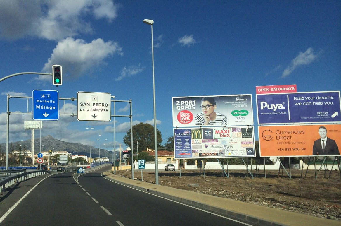 Outdoor advertising campaign for specsavers in marbella - Specsavers head office contact number ...